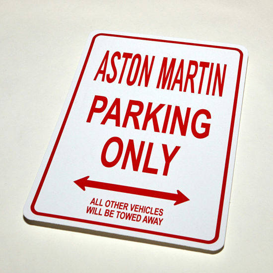 Picture of AM Parking Sign - Red
