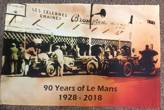 Picture of Tea Towel Le Mans 90th Anniversary