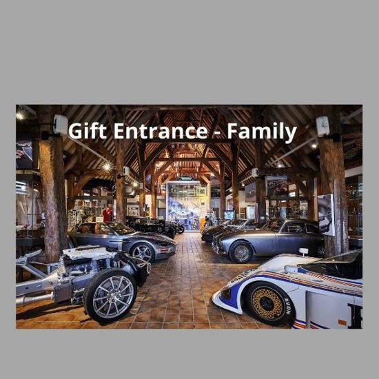 Picture of Gift Ticket Entry for Family - 2 adults, 2 U16