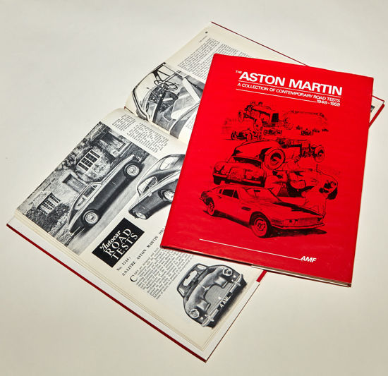 Picture of Aston Martin Road Tests 1948-1959 (Red)