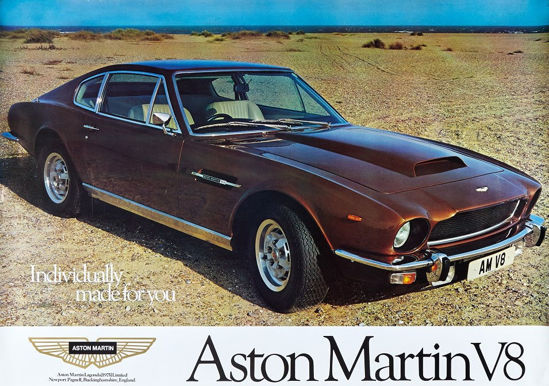 Picture of AMV8 on Shingle Beach Poster Original Factory Poster